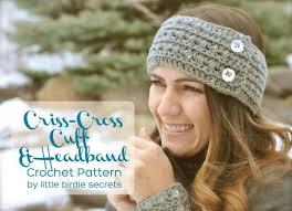 Easy Crochet Headband Pattern Free Inspiration 48 Free And Easy Crochet Headband Patterns