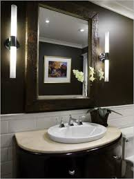 Guest Bathroom Lighting Ideas Modern Guest Bathroom Design Ideas Cool Round House Co