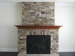 stack stone fireplace. Image Of: Stacked Stone Fireplace Images Stack O