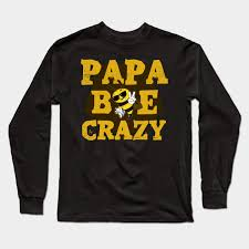 Crazy Shirts Size Chart Papa Bee Crazy