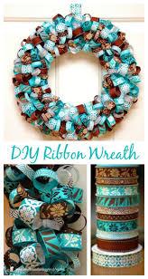 DIY Projects: Pretty DIY Fall Wreaths