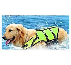 Greendog Size Chart Doggie Style Store Bright Green Dog Lifejacket Life Jacket