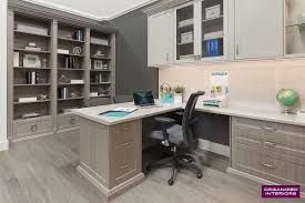 home office photos. Laminate Desktop And Counter Space Provides Plenty Of Room To Work. Home Office Photos