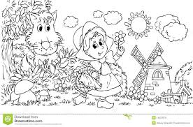 Free Colouring Pages Little Red Riding Hood
