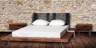 modern reclaimed furniture. modern style reclaimed wood platform bed contemporary beds furniture