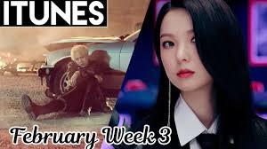 Top 30 Us Itunes Kpop Chart 2018 February Week 3 Weekly