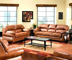 ed camel colored leather sofa sectional