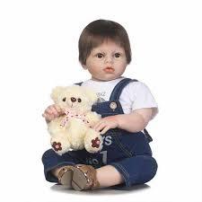 "<b>70cm Silicone</b> Boy <b>Baby</b> Dolls Lifelike Vinyl 28"" <b>Reborn Baby</b> Dolls ..."