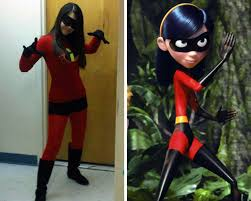 diy violet from the incredibles diy superhero costume ideas become a homemade vinte