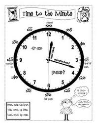 114 Best Clock Images In 2019 Teaching Time 1st Grade