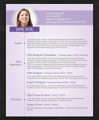 Purple Creative CV Template by resumepro US Letter Layout Resume Template  Whats in the file: 1 layered PSD file. Print ready CMYK Size: US Letter  Font used: ...