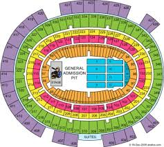 Msg Floor Seating Chart Msg Seating Chart Ga Floor The Floor Seats Actually