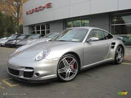 GT Silver Metallic 2007 Porsche 911 Turbo Coupe Exterior Photo ...