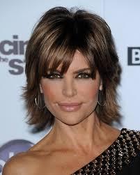 Lisa Rinna Hairstyles More Pics Of Lisa Rinna Short Straight Cut 3 Of 6 Short