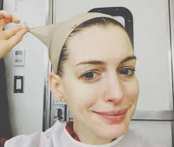 anne hathaway without makeup
