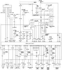 Diagram toyota pickup wiring 22re air flow meter afm 1992 radio tail