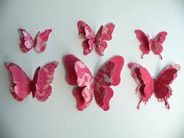 3d Butterfly Wall Decor 3d Butterfly Wall Stickers Australia Jen Joes Design
