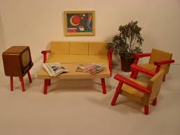 modern dollhouse furniture sets. vintage german made 1960u002770u0027s doll house furniture midcentury modern dollhouse sets i