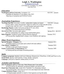 what to put for communication on a resume resume ideas