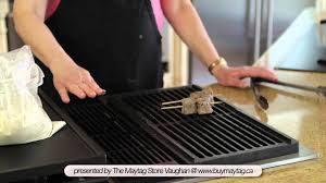 jenn air electric cooktop with grill. steak pinwheels and marinated chicken on the jenn-air down draft cooktop - youtube jenn air electric with grill n