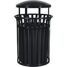 decorative trash bins 5 gallon steel garbage container outdoor waste cans decorative decorative indoor trash cans