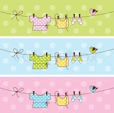 baby shower banners baby shower banners stock vector colourbox