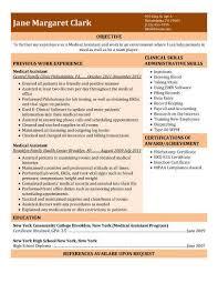 Modern Healthcare Resume Medical Assistant Resume Example Modern Medical Assistant Skills