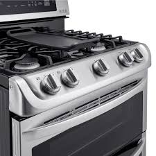 Oven Gas Stove Lg Ldg4315st 30 Stainless Steel Gas Sealed Burner Double Oven