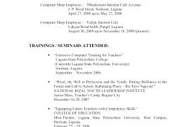 Skill Examples For Resumes Resume Template Directory