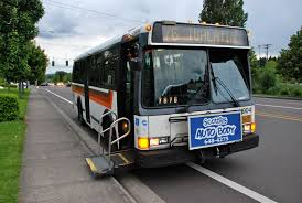 wheelchair lift bus. Exellent Lift FileTransit Bus Wheelchair Lift In 1992 TriMet Flxible 2  Extending Throughout Wheelchair Lift Bus