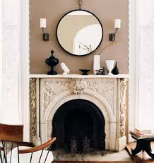 mirrors above fireplace mantels round mirror over fireplace