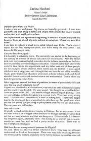 Hashmi Zarina Selected Document Artasiamerica A Digital