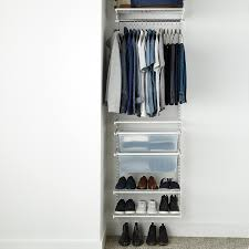 reach in closet systems. White Elfa Small Reach-In Closet Reach In Closet Systems