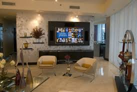 Decorations:Alluring Traditional Home Theater For Entertainment Room With  Wood Walls And Large Tv Inspiring