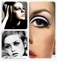 twiggy 1960s cosmetics eye shadow make up artist makeup png 1024 1075 free transpa png