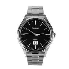 shoplosangeles rakuten global market seiko seiko men x27 s seiko seiko men s dress quartz stainless steel watch silver men s dress watch silver sur023p1
