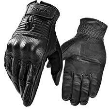 INBIKE <b>Genuine</b> Leather Motorcycle Gloves Motobike Racing Sports ...