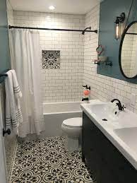 Most Popular Small Bathroom Remodel Ideas On A Budget In 2018 This Beautiful Look Was Created Small Bathroom Remodel Bathroom Remodel Master Bathrooms Remodel