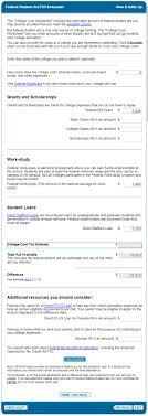 Fafsa Efc Code Chart What Is Efc And How To Use The Fafsa Efc Calculator The