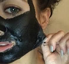diy charcoal glue mask