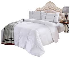 down alternative 100 bamboo comforter full queen