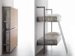 Stylish Fold Out Wall Bed Wall Mounted Folding Bunk Beds Murphy Bed