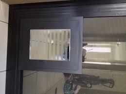 prestige pet security screen pet door standard size black