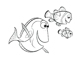 Finding Nemo Coloring Pages Bruce Color Best Of Marlin The Shark Pag