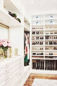 Walk In Closet Pinterest 13 Enviable Closets From Pinterest Dream Closets Shoe Rack And
