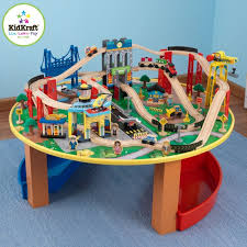 zzkk17985 kidkraft city explorer s train set and table 001