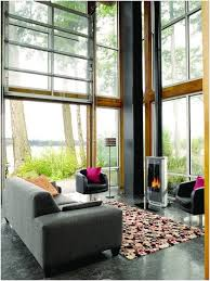 single car garage doors. Single Car Garage Doors » Warm Glass Door As A Window Wall Gives You The Option Of Open Air