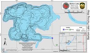 Barton Lake Depth Chart Williams Reservoir Lima Ohio Map World Map
