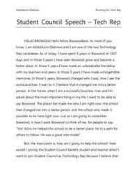 student council speech google search student council student council speech