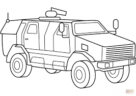 military armored mrap vehicle coloring page in vehicles coloring pages